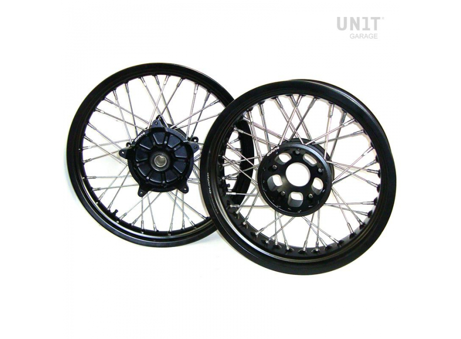 Roues STS Tubeless Complete R1200 GS noires