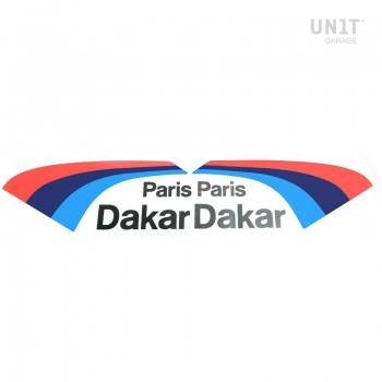 Stickers sport automobile PARIS DAKAR