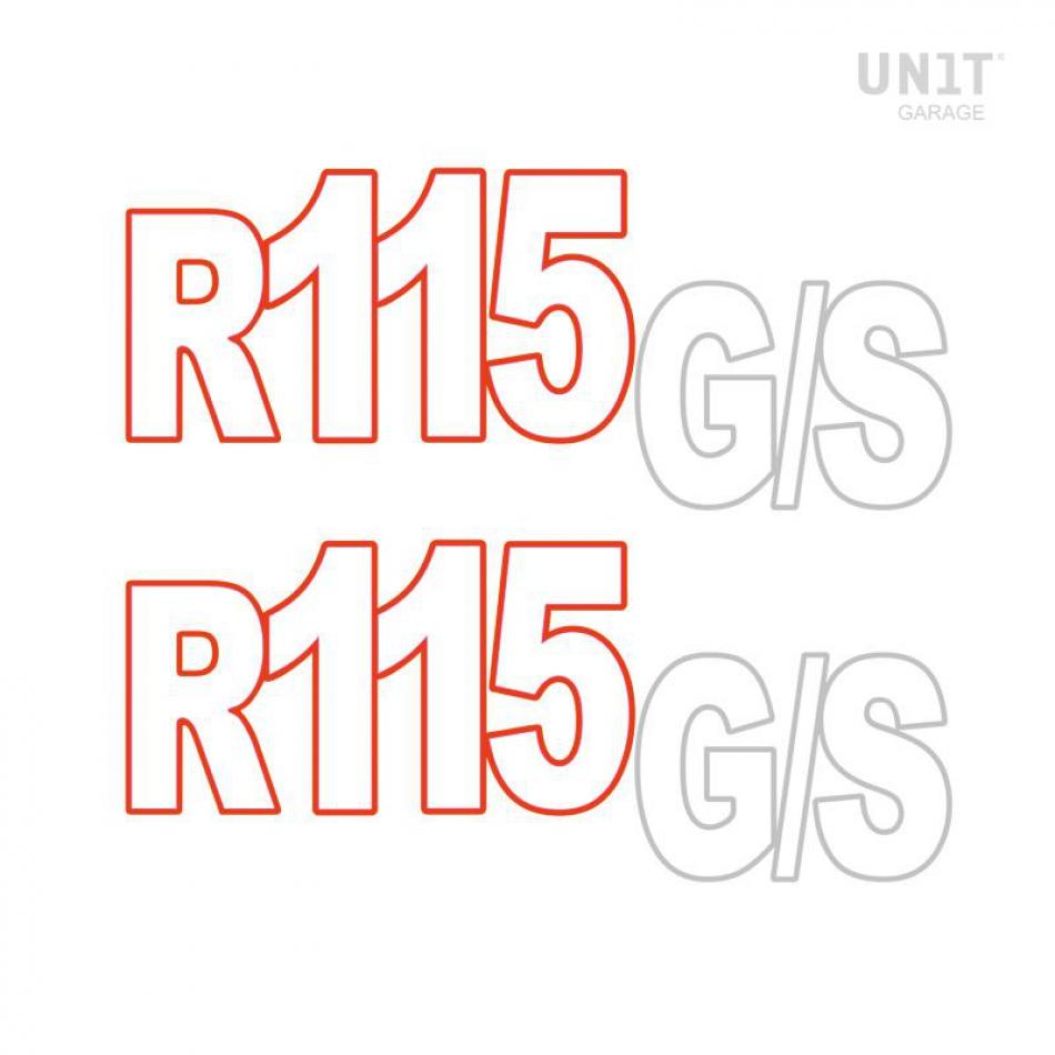 Autocollants R115 GS