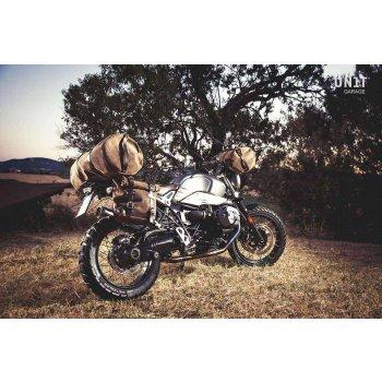 Kalahari 43L - Sac de voyage en croûte de cuir
