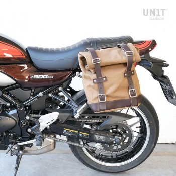 Sacoche latérale en toile + Gauge cadre Kawasaki Z900RS