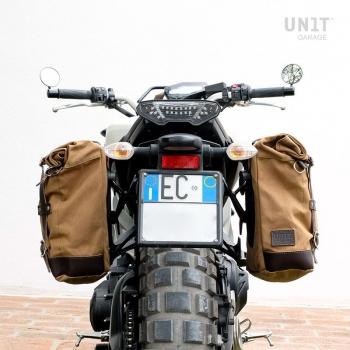 Sacoche latérale en toile + châssis Yamaha DX