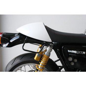 Sac fourre-tout en cuir + monture Triumph Thruxton DX