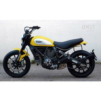 Sacoche latérale + cadre Ducati