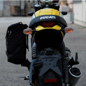 Sacoche latérale + cadre Ducati Scrambler