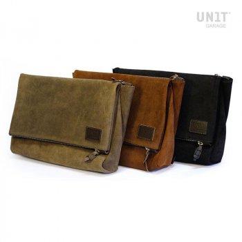 Fezzan Messenger Bag Fente en cuir