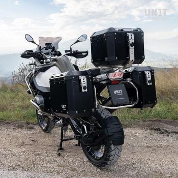 Paire de sacs aluminium Atlas 40L + 34L avec cadres R1200GS LC - R1250GS & ADV