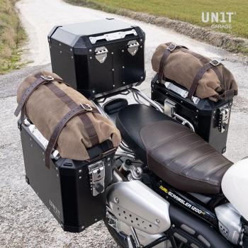 Paire de sacoches Atlas 47L + 41L aluminium avec cadres Triumph 1200 XC & XE