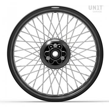 Paire de roues à rayons Ducati Desert Sled 800 48M6