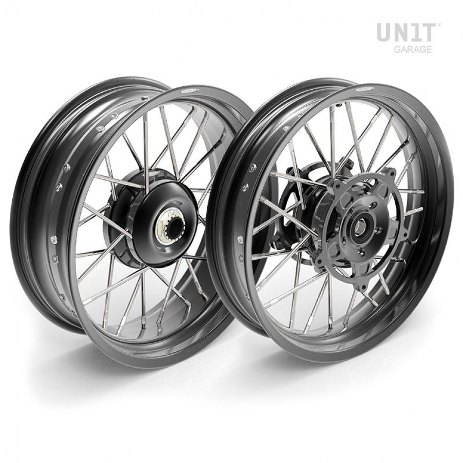 Paire de roues à rayons NineT 24M9