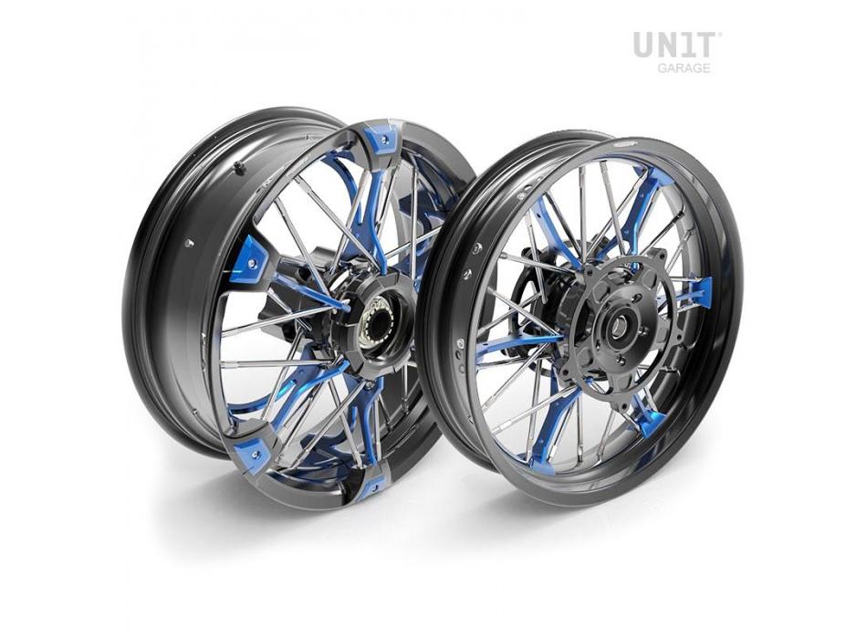 Paire de roues à rayons NineT 24M9 SX-Spider tubeless