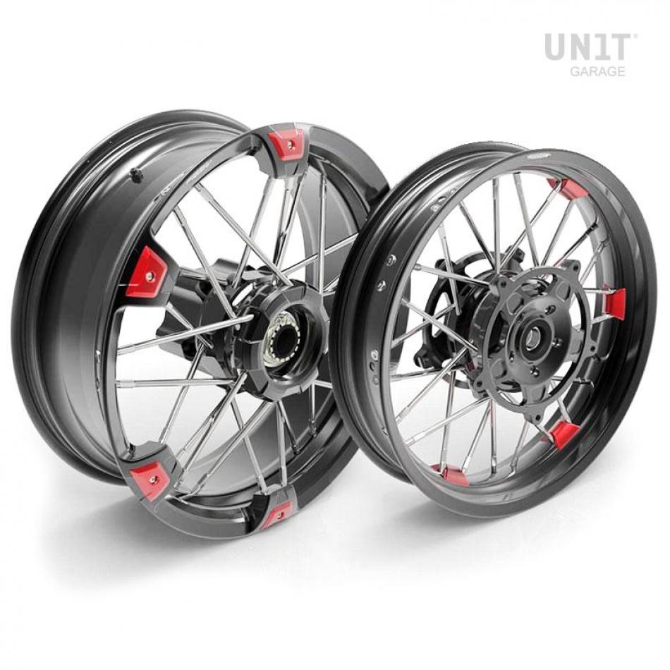 Paire de roues à rayons NineT 24M9 SX tubeless