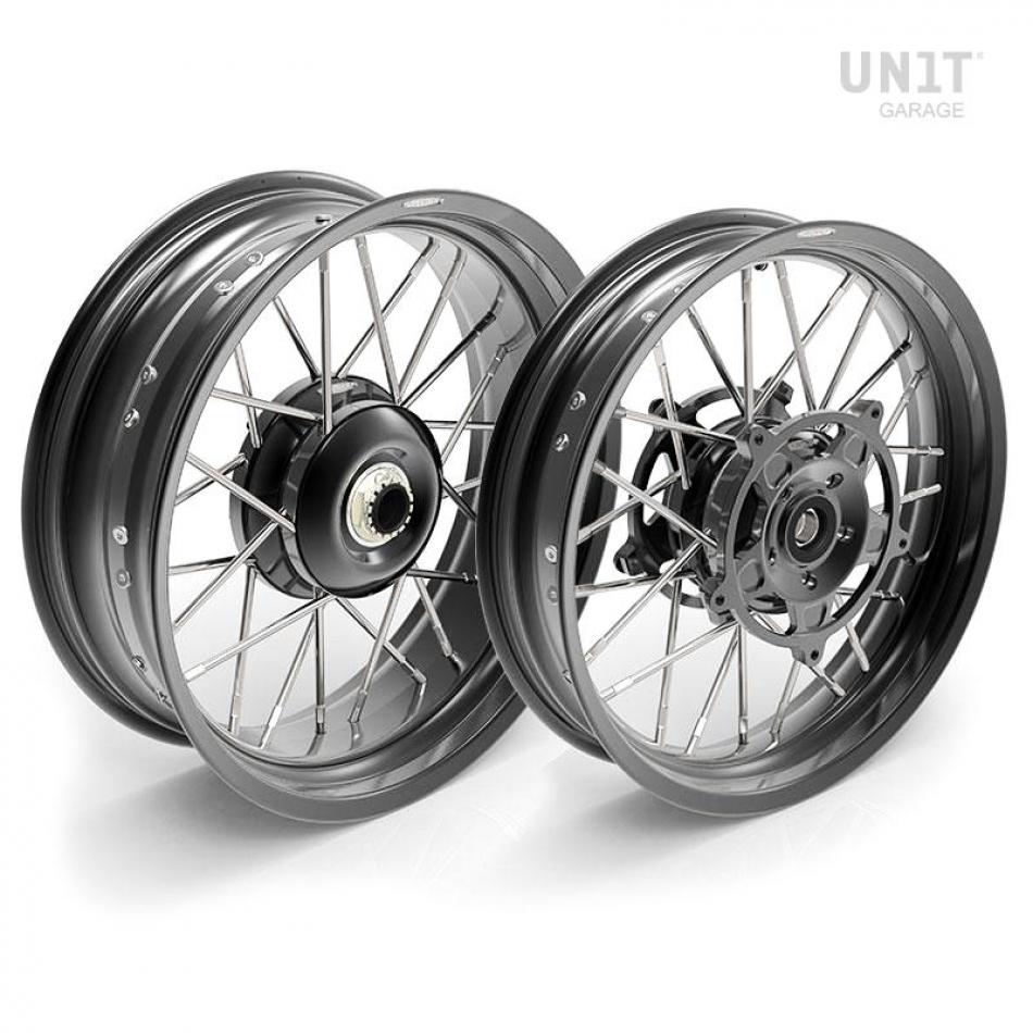 Paire de roues à rayons NineT Racer & Pure 24M9