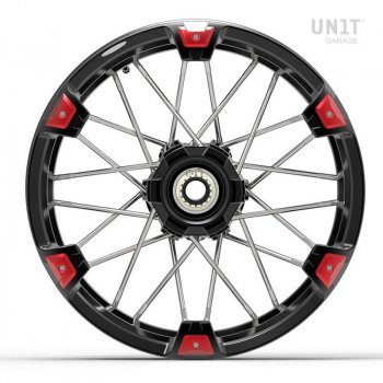 Paire de roues à rayons NineT Racer & Pure 24M9 SX tubeless