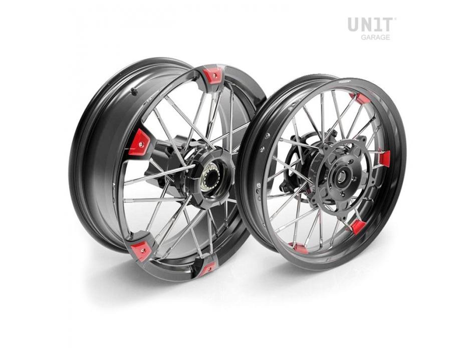 Paire de roues à rayons R1200R 24M9 SX Tubeless