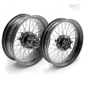 Paire de roues à rayons Triumph BonnevilleSE 48M6