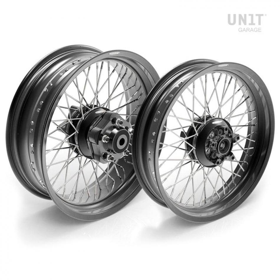 Paire de roues à rayons Triumph T100 48M6