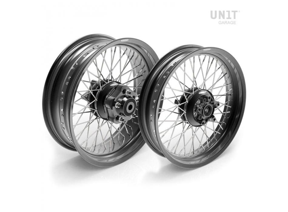 Paire de roues à rayons Triumph Thruxton & ThruxtonR 48M6