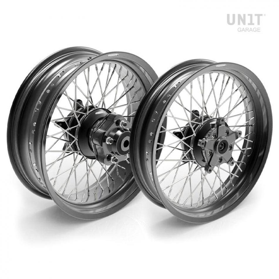 Paire de roues à rayons Ducati Cafe Racer 800 48M6