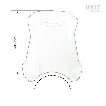 Pare-brise avec support GPS pour Triumph 1200 XC-XE
