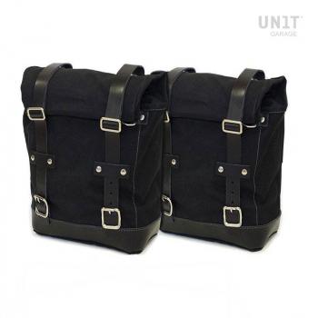Deux sacs de toile latéraux + double cadre NineT