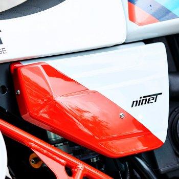 panneaux latéraux kit nineT Paris Dakar