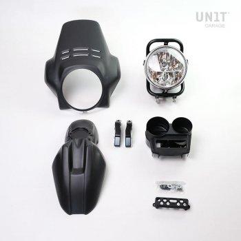 Kit phares PRO FENOUIL (noir mat)