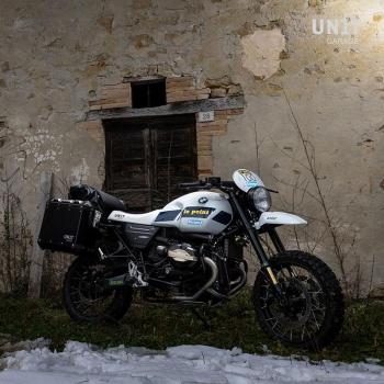 Kit NineT PARIS DAKAR GR86 avec accessoires