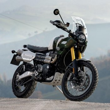 Silencieux Triumph 1200XC & XE avec collecteur en acier inoxydable sans catalyseur