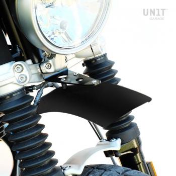 Haut garde-boue aluminium nineT Urban GS Noir