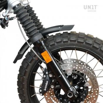 NineT garde-boue bas en aluminium avec stabilisateur de fourche noir