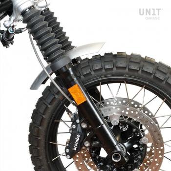 NineT garde-boue bas en aluminium avec stabilisateur de fourche