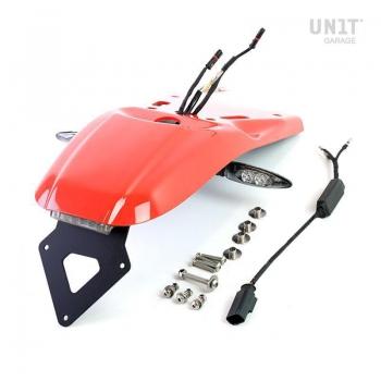 Garde-boue arrière avec kit de support de plaque d'immatriculation