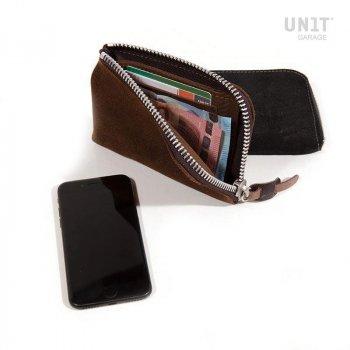 Support de téléphone et portefeuille