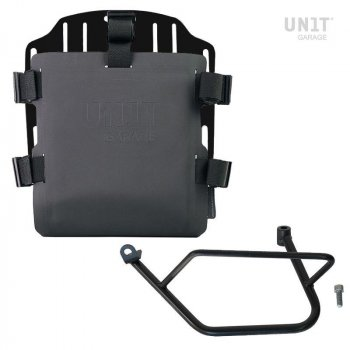 Support de sac en aluminium avec façade Hypalon réglable et attache rapide + cadre