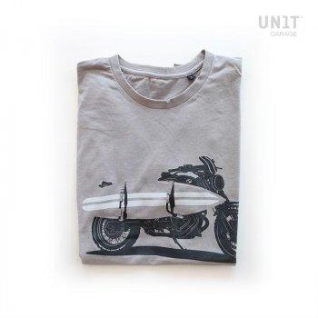 T-shirt de garage gris