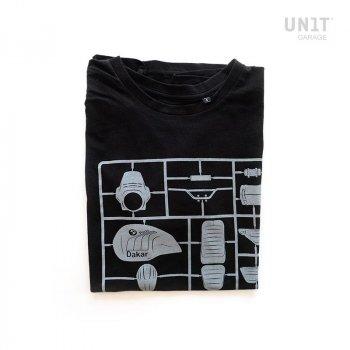 T-shirt de garage noir