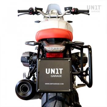 Cadre droit NineT pour sac aluminium Atlas
