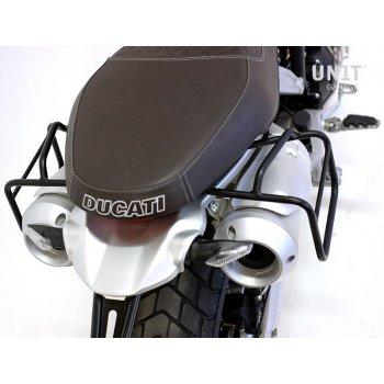 Cadre gauche Ducati Scrambler 1100