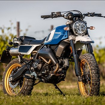 Ducati Scrambler FuoriLuogo KIT by Unit Garage - TEST